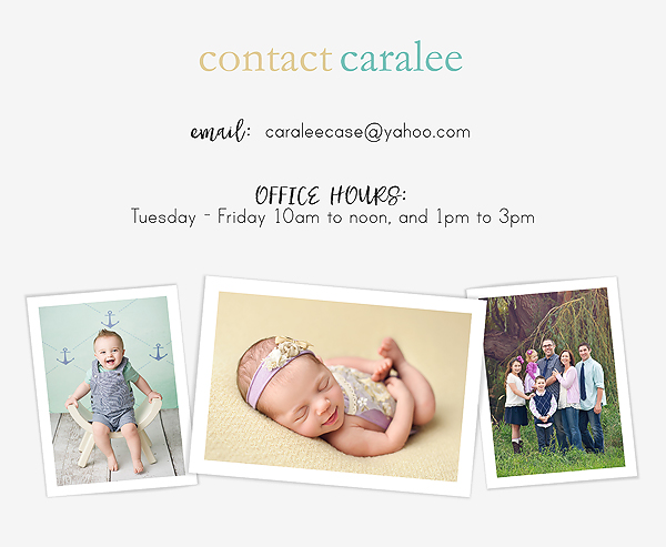 Contact Caralee Case Photography