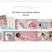 Accordion Mini Album Template Kayla thumbnail