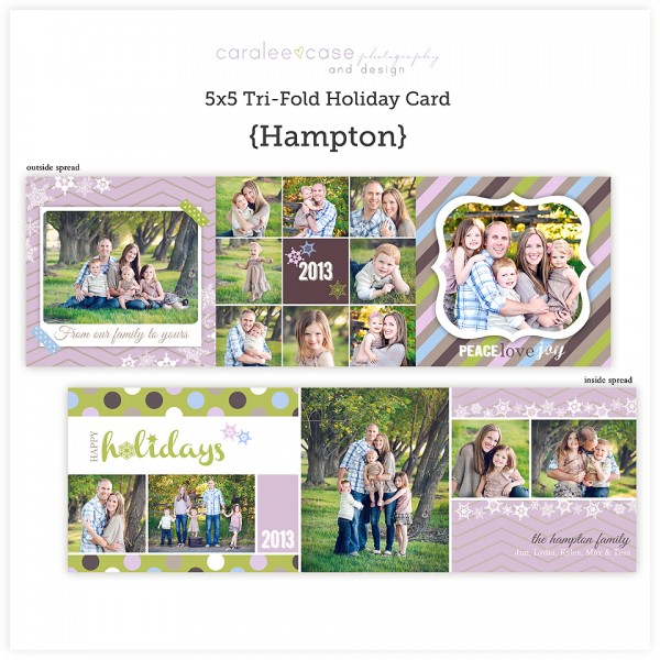 trifold Hampton sq