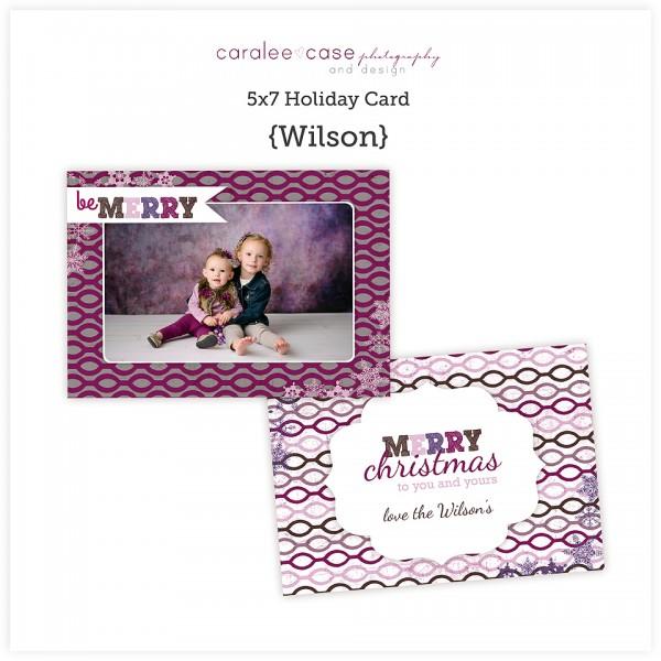 5x7 Wilson sq
