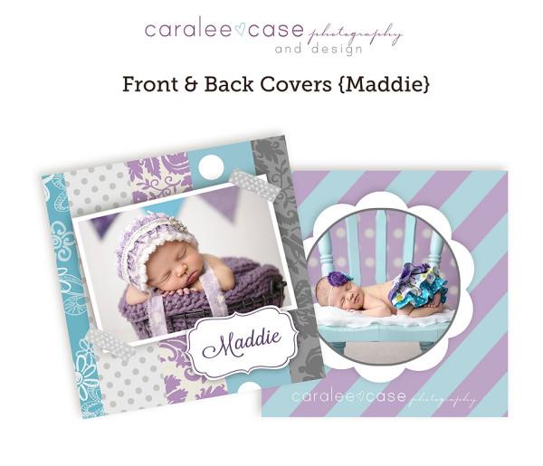 3x3 accordion mini Maddie cover