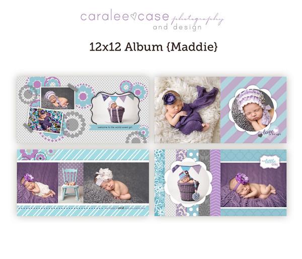 12x12 Album Maddie pages