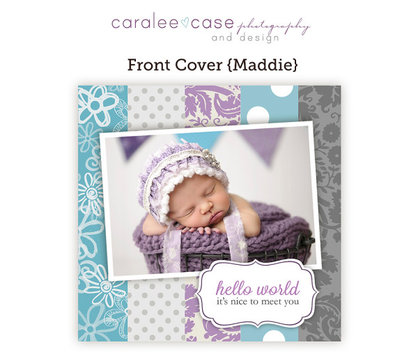 5x5 trifold maddie cover