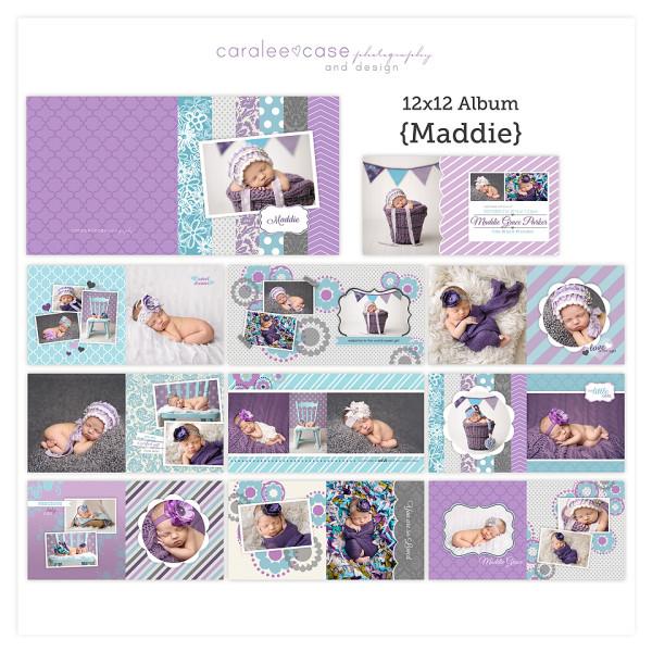 12x12 Album Maddie sq