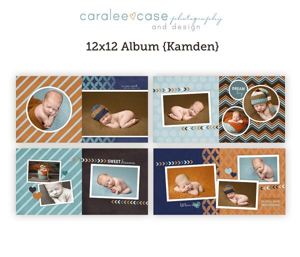 12x12 Album Kamden