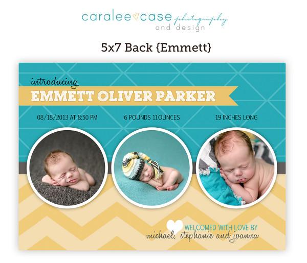 5x7 Emmett