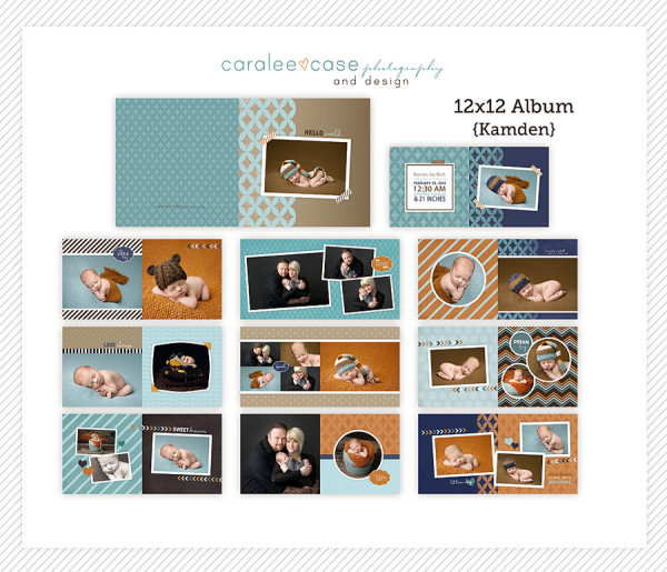 12x12 Kamden Album