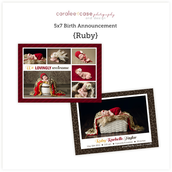 5x7 Ruby sq