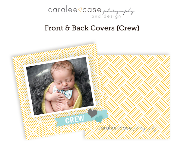 3x3 Mini Accordion {Crew} closeup