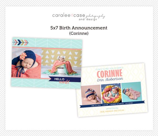 5x7 Corinne