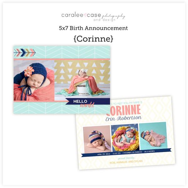 5x7 Corinne sq