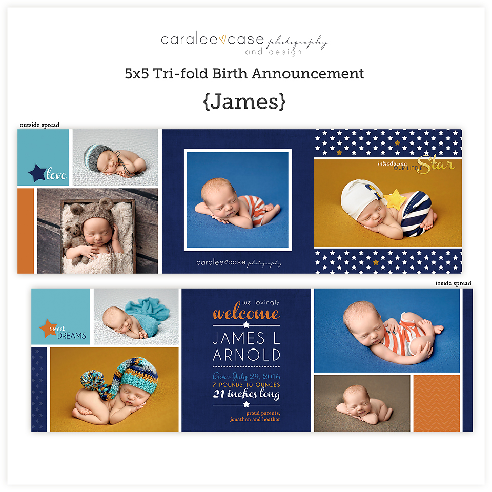 Trifold James sq