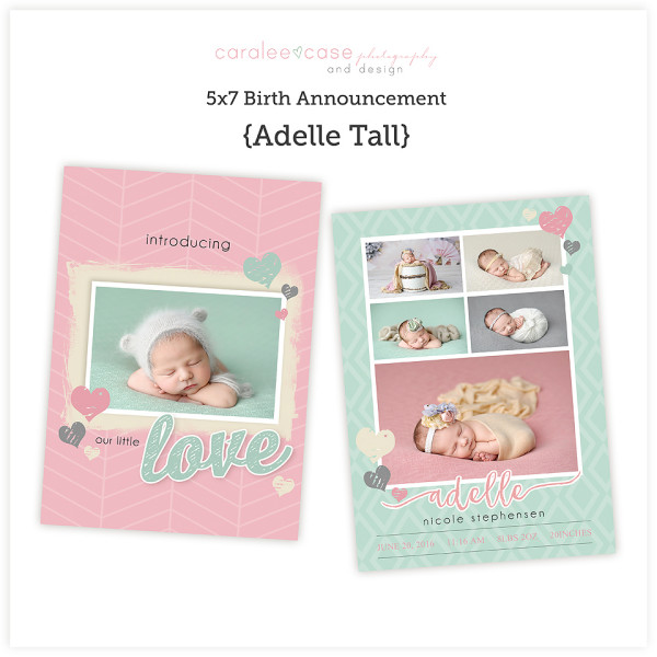 Adelle 5x7 tall sq