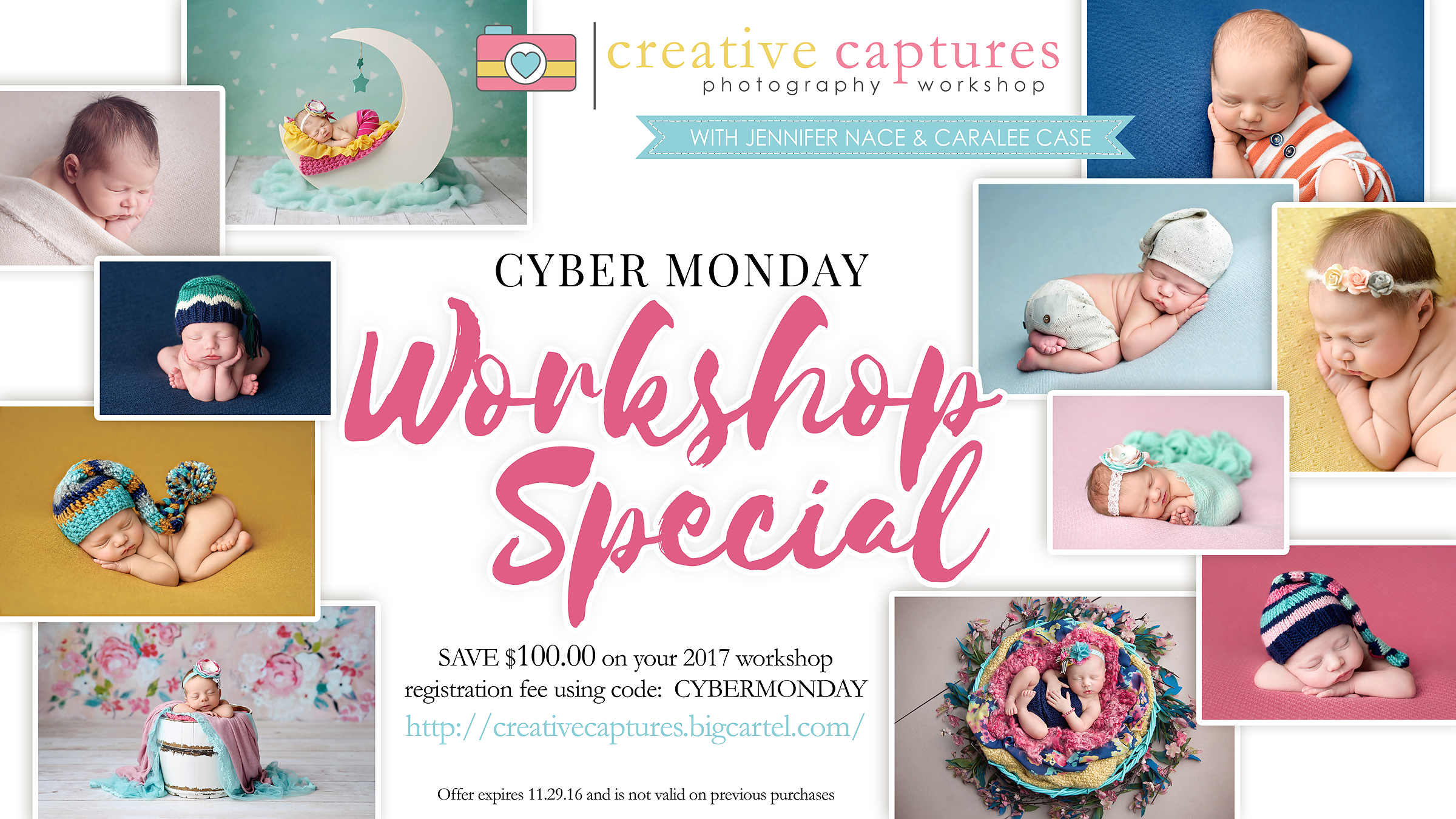Cyber Monday Workshop Special