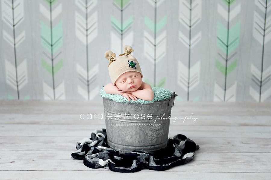 Blackfoot, ID Newborn Infant Baby Photography ~ Caralee Case Photography