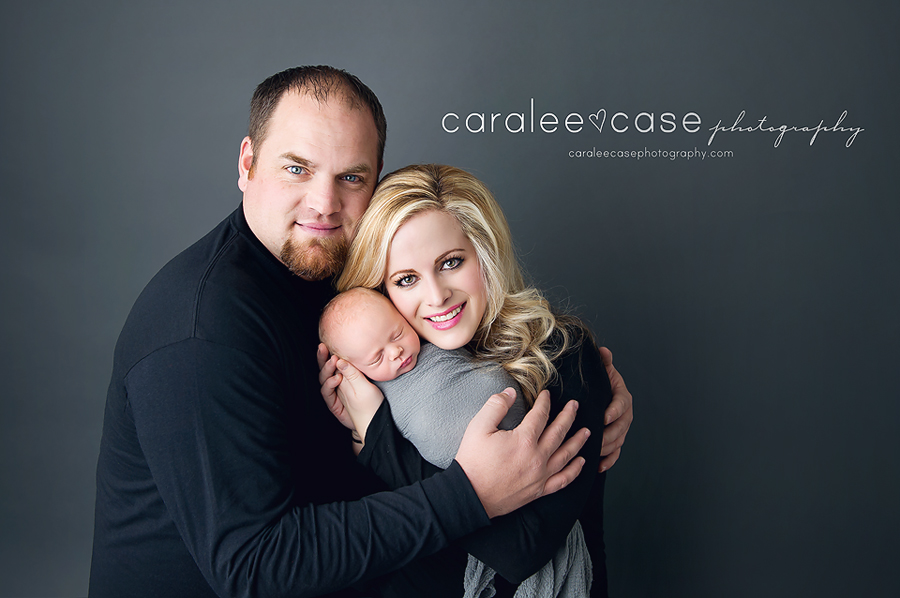 Idaho Falls, ID Newborn Infant Baby Photography ~ Caralee Case Photography