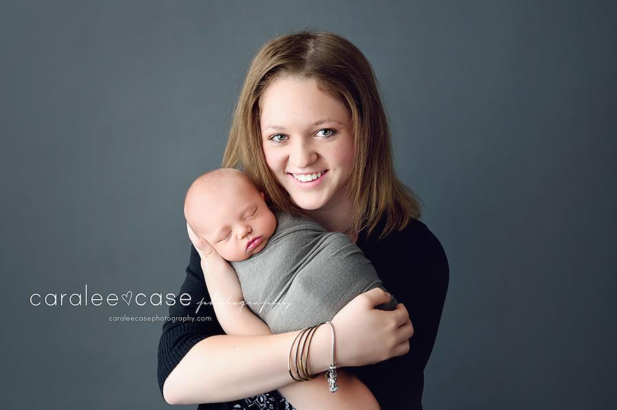 Jackson Hole, Wyoming Newborn Infant Baby Photographer ~ Caralee Case Photography