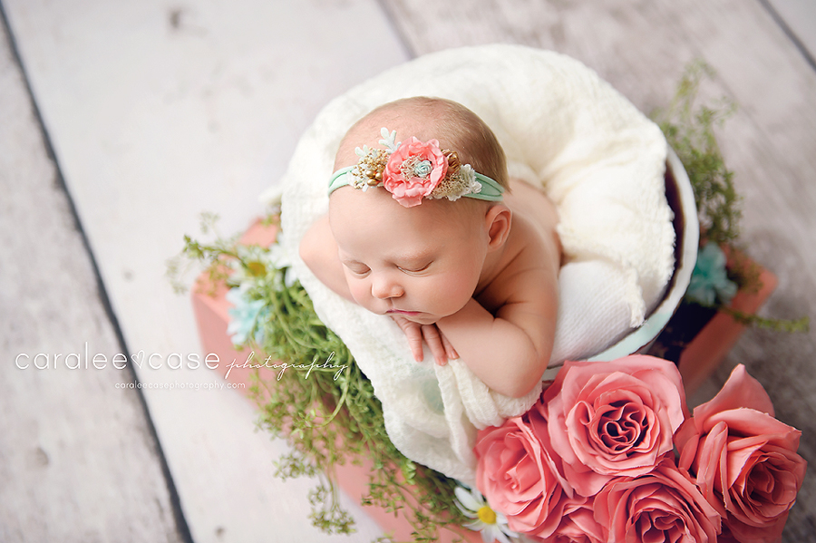 Shelley, ID Newborn Infant Baby Photographer ~ Caralee Case Photography