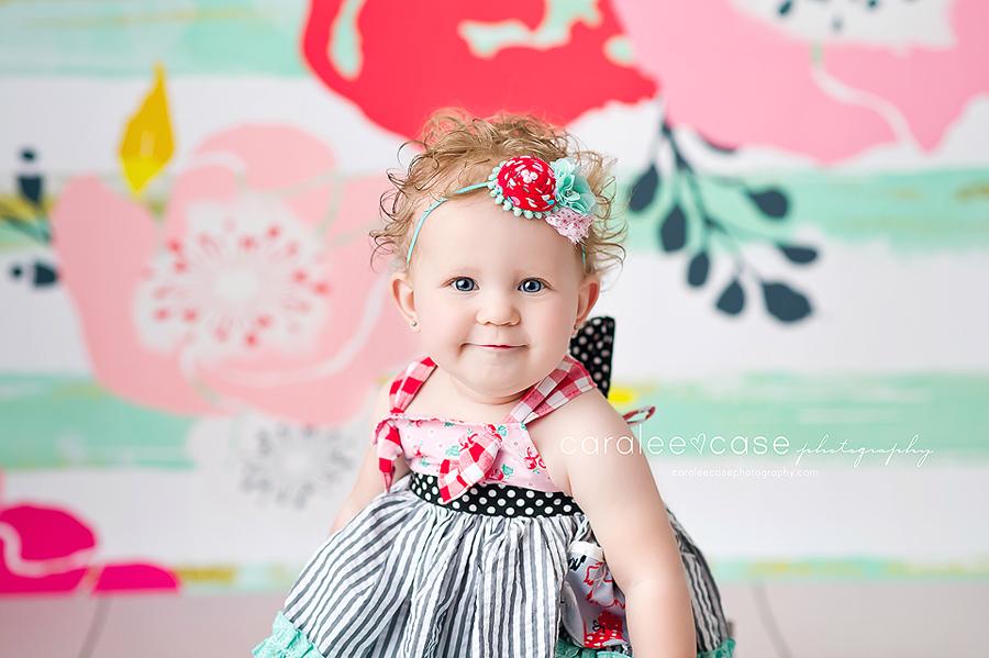 Southeast Idaho Baby Child Birthday Cake Smash Photographer ~ Caralee Case Photography