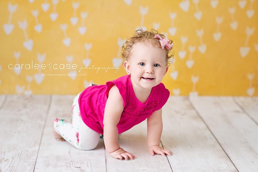 Idaho Falls, ID Baby Child Birthday Cake Smash Photographer ~ Caralee Case Photography