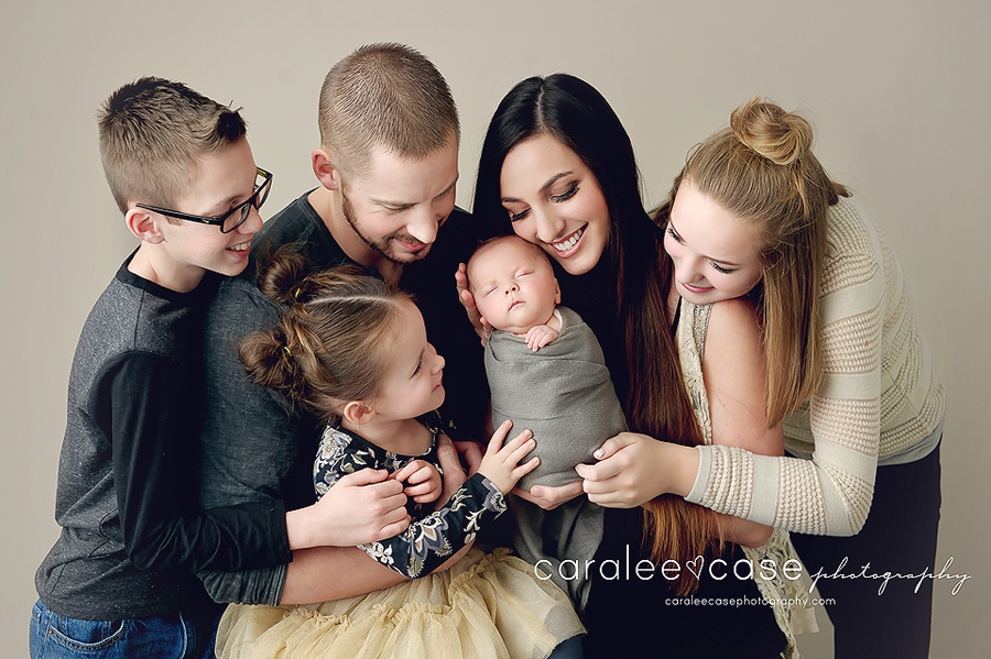 Ammon, Idaho Newborn Infant Baby Photographer ~ Caralee Case Photography