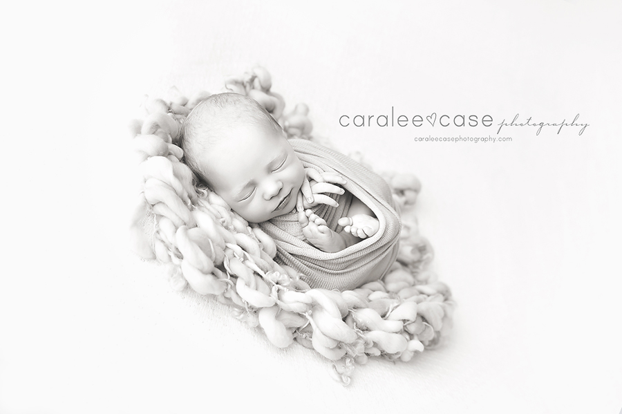 Rigby Idaho Newborn Infant Baby Photography ~ Caralee Case Photography
