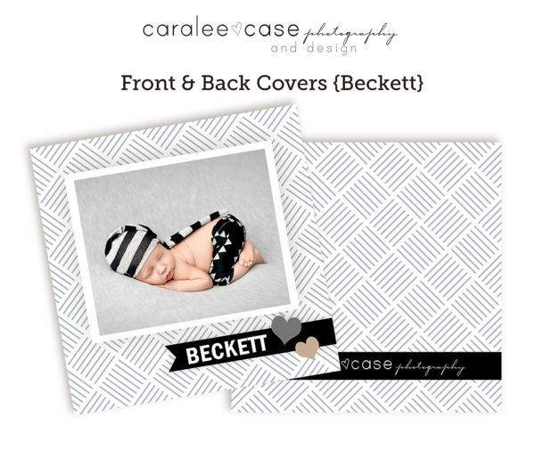 Closeup Beckett front and back covers