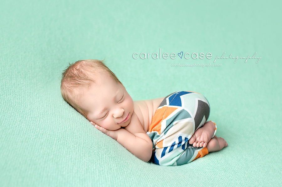 Ammon Idaho Newborn Infant Baby studio portait Photography ~ Caralee Case Photography