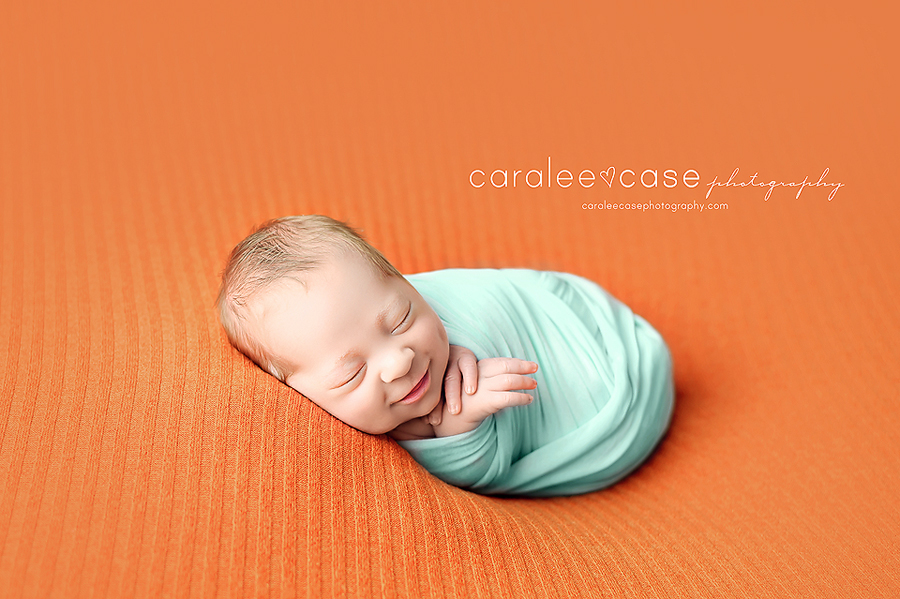 Rigby, Idaho Newborn Infant Baby studio portait Photography ~ Caralee Case Photography
