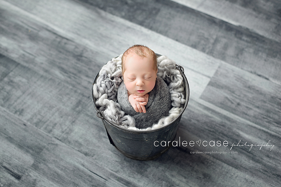 Rexburg, Idaho Newborn Infant Baby studio portait Photography ~ Caralee Case Photography
