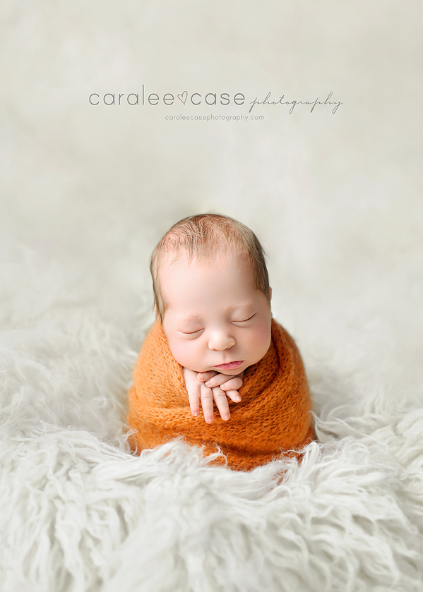 Idaho Falls, ID Newborn Infant Baby studio portait Photography ~ Caralee Case Photography