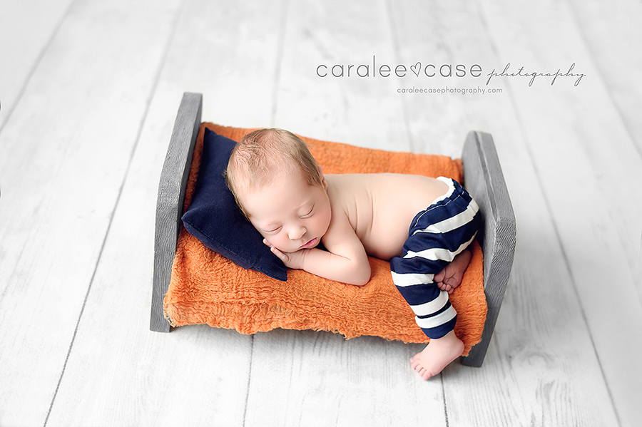 Pocatello Idaho Newborn Infant Baby studio portait Photography ~ Caralee Case Photography
