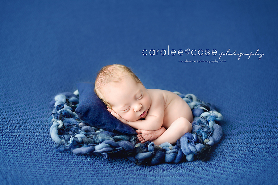 Rexburg Idaho Newborn Infant Baby studio portait Photography ~ Caralee Case Photography