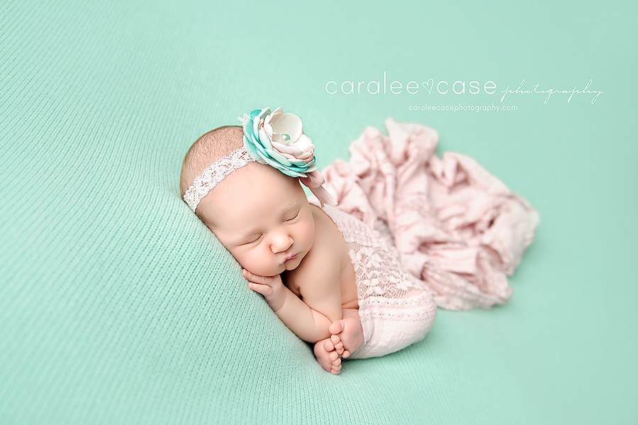 Rexburg Idaho newborn infant baby studio portrait photographer ~ Caralee Case Photography