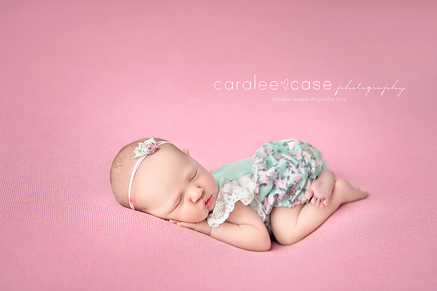 Blackfoot Idaho newborn infant baby studio portrait photographer ~ Caralee Case Photography