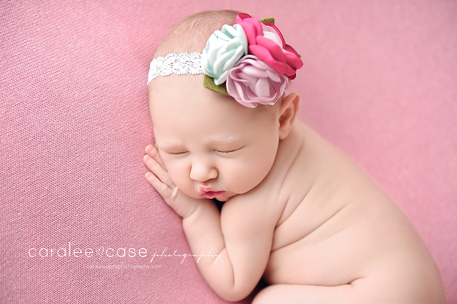 Pocatello Idaho newborn infant baby studio portrait photographer ~ Caralee Case Photography