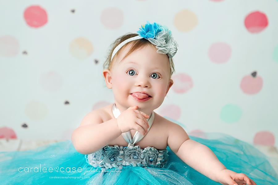 Pocatello Idaho Baby Child Birthday Cake Smash Photographer ~ Caralee Case Photography