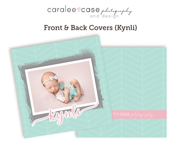 Kynli accordion album template CLOSEUP Caralee Case Photography