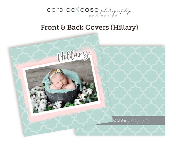 Hillary accordion album template CLOSEUP Caralee Case Photography