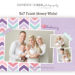 5x7 birth announcement Closeup Template Avery Caralee Case Photography thumbnail
