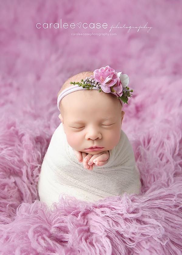 Rigby Idaho Newborn Infant Baby Photographer ~ Caralee Case Photography