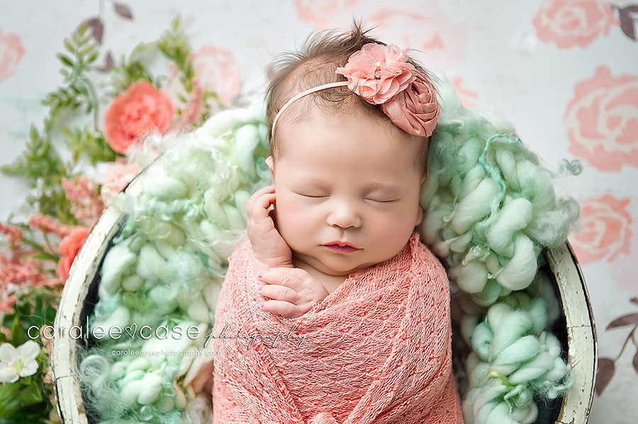 American Falls Idaho Newborn Infant Baby Photographer ~ Caralee Case Photography
