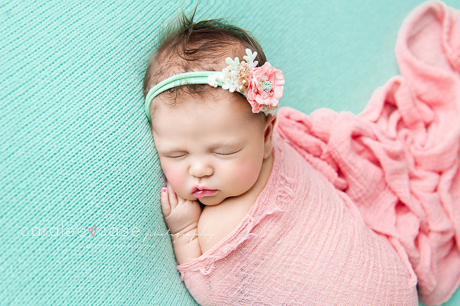 Rexburg Idaho Newborn Infant Baby Photographer ~ Caralee Case Photography