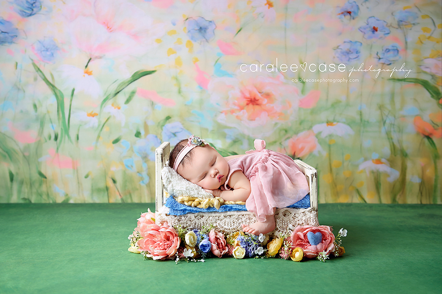 Idaho Falls, ID Newborn Infant Baby Studio Photographer - Caralee Case Photography workshops class posing