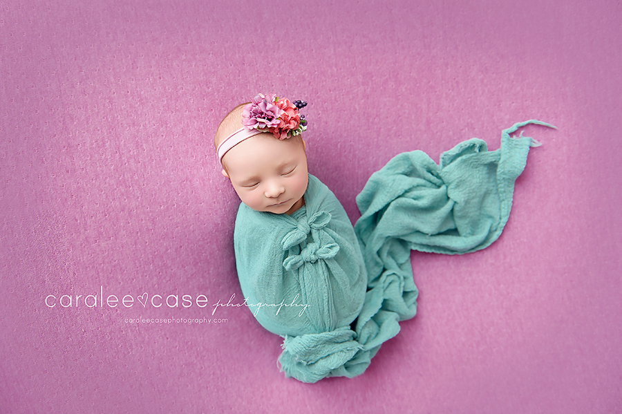 Idaho Falls, ID Newborn Infant Baby Studio Portrait Photographer - Caralee Case Photography